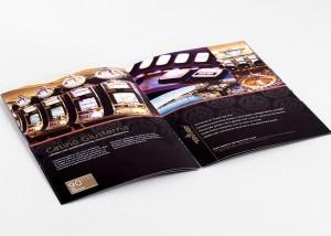 Tiskarna Petrič | Brošura Casino / tisk / tiskanje