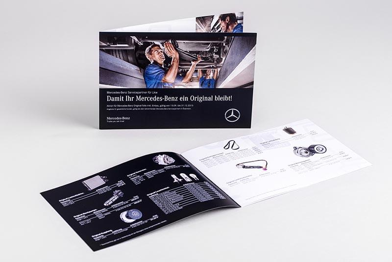 Tiskarna Petrič | Brošura Mercedes / tisk / tiskanje