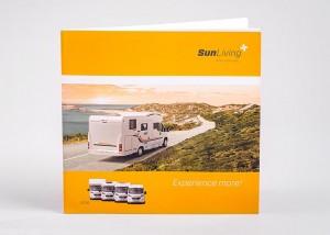 Tiskarna Petrič | Brošura Sun Living / tisk / tiskanje