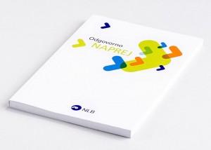 Tiskarna Petrič | Letno poročilo NLB / tisk / tiskanje