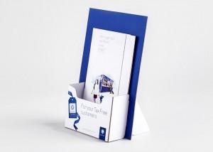 Tiskarna Petrič | Reklamni pano Global Blue / tisk / tiskanje