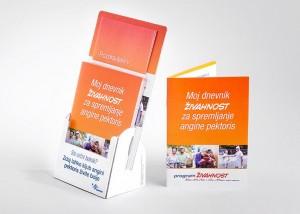 Tiskarna Petrič | Reklamni pano Servier / tisk / tiskanje