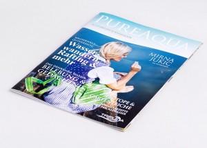 Tiskarna Petrič | Revije Pure Aqua / tisk / tiskanje