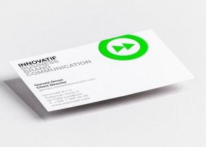 Tiskarna Petrič | Vizitka Innovatif / tisk / tiskanje