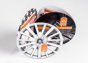 Tiskarna Petrič | Zloženka Peugeot / tisk / tiskanje