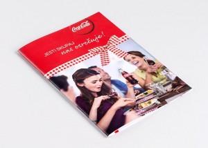 Tiskarna Petrič | Brošura Coca Cola / tisk / tiskanje